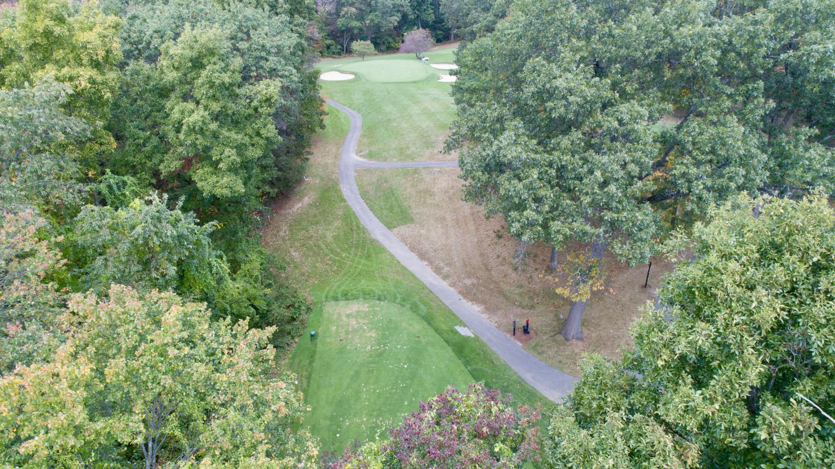 8th Tee Lower