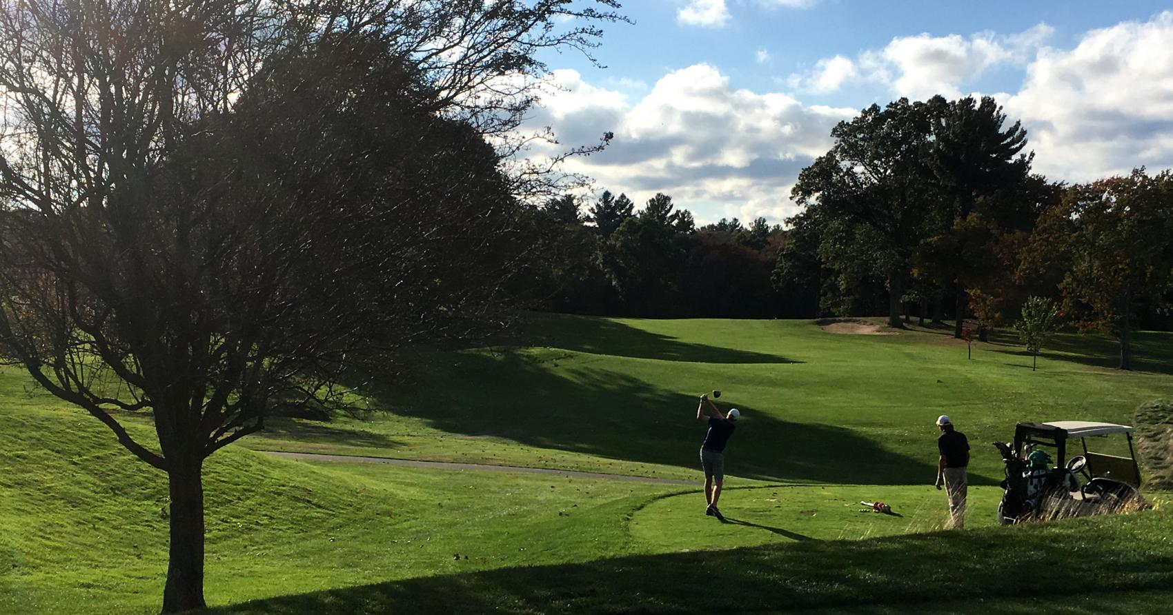 Fairway First Hole Nov